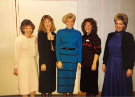 Office Ladies of the 1980s